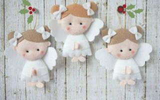 Ангелочек из фетра — Своими Руками