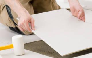 Подготовка пола под укладку плитки — Своими Руками