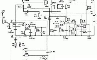 Простая рация на трех транзисторах — Своими Руками