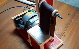 Бюджетный ленточный шлифовальный станок — Своими Руками
