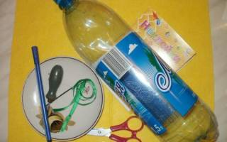 Карандашница из пластиковой бутылки — Своими Руками