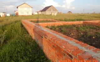 Плюсы и минусы строительства цоколя из красного кирпича — Своими Руками