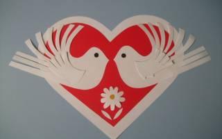 Мастер-класс по изготовлению открытки ко дню св. Валентина — Своими Руками