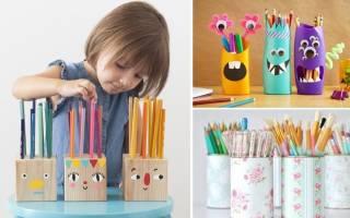 Подставка для карандашей — Своими Руками