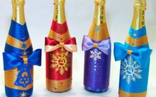 Шампанское к новому году — Своими Руками