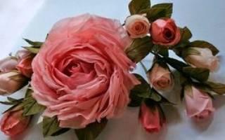 Роза из несложных мотивов — Своими Руками
