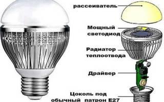 Как разобрать и отремонтировать LED лампу — Своими Руками