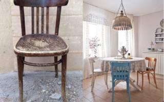 Реставрируем старый стул — Своими Руками