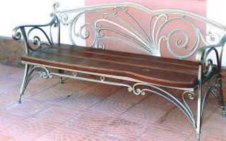 Кованая скамейка — Своими Руками