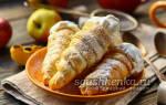 Сладкие трубочки с белково-сахарным кремом — Своими Руками