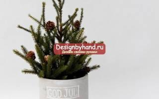 Милые гномы для украшения елки или декора — Своими Руками