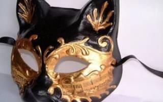 Как сделать маску из папье-маше — Своими Руками