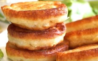 Рецепт пышных оладий на кефире — Своими Руками