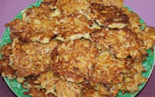 Картофельные оладьи с мясом — Своими Руками
