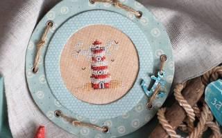 Обрамление вышивки — Своими Руками