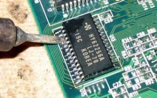Быстрая распайка SMD компонентов с помощью утюга — Своими Руками