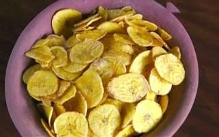 Готовим банановые чипсы — Своими Руками
