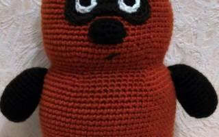Как связать игрушечного Винни-Пуха? — Своими Руками