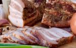 Вкусное сало в луковой шелухе — Своими Руками