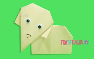Как сделать слоника в технике оригами — Своими Руками