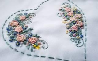 Красивая вышивка в стиле «рококо» — Своими Руками