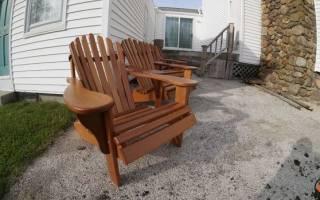 Как изготовить современное дачное кресло своими руками — Своими Руками