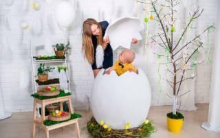 Пасхальное яйцо из папье-маше — Своими Руками