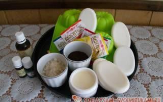 Изготовление домашнего мыла с антицеллюлитным эффектом — Своими Руками