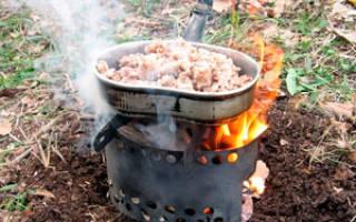 Походная печь-примус для котелка — Своими Руками