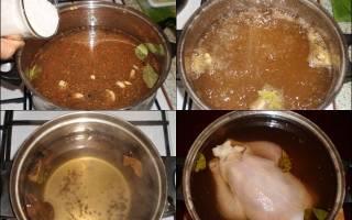 Мясо птицы в рассоле (для длительного хранения) — Своими Руками