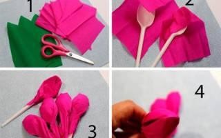 Мастер-класс по изготовлению зажима «Букет тюльпанов» — Своими Руками