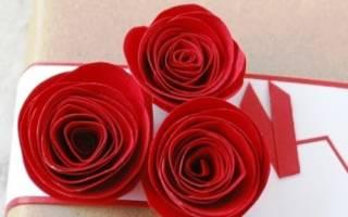 Бумажная роза — Своими Руками