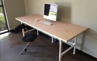 Простой компьютерный стол — Своими Руками