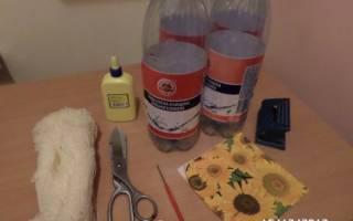 Сундучок из пластиковых бутылок — Своими Руками
