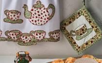 Кухонная прихватка из лоскутков — Своими Руками