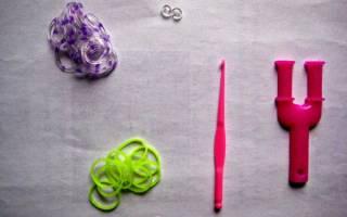 Объемный браслет из резинок — Своими Руками
