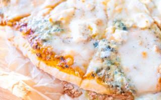 Как приготовить пиццу четыре сыра — Своими Руками