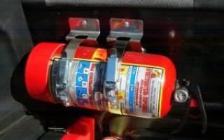 Кронштейн для автомобильного огнетушителя своими руками — Своими Руками