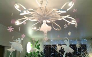 Снежная балерина — Своими Руками