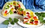 Желейный десерт Битое стекло — Своими Руками