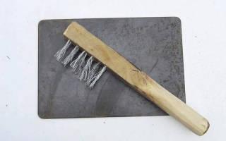 Простая щетка с металлический щетиной — Своими Руками