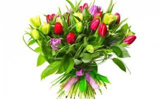 Букет тюльпанов — Своими Руками