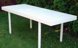 Как сделать стол из старой двери — Своими Руками