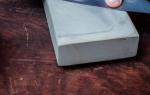 Как правильно точить нож на камне — Своими Руками
