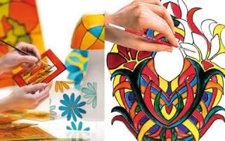 Витражные краски своими руками — Своими Руками