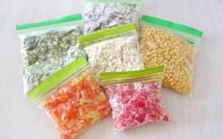 Заморозка овощей и зелени на зиму в домашних условиях — Своими Руками