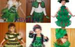 Новогодний костюм ёлочки — Своими Руками