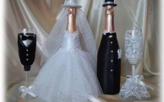 Свадебное шампанское своими руками — Своими Руками