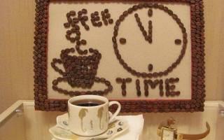 Кофейное панно на кухню — Своими Руками