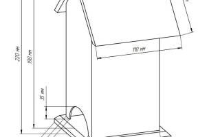 Чайный домик из картона — Своими Руками